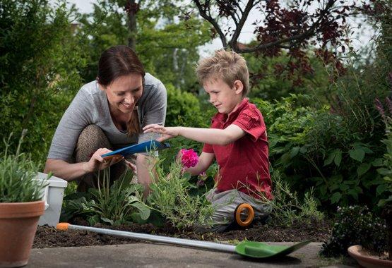 Tuinieren kan kinderspel zijn