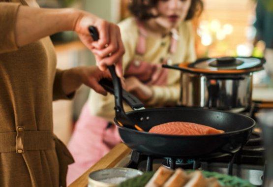 Kookgerei geschikt voor alle soorten fornuizen