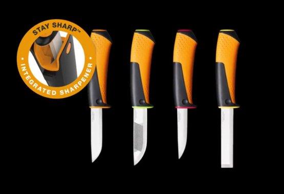 Een nieuwe serie messen voor dagelijks gebruik met geïntegreerde slijper