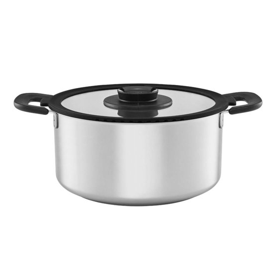FF pan 5,0L, roestvrij staal