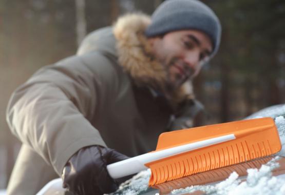 SnowXpert borstel en ijskrabber